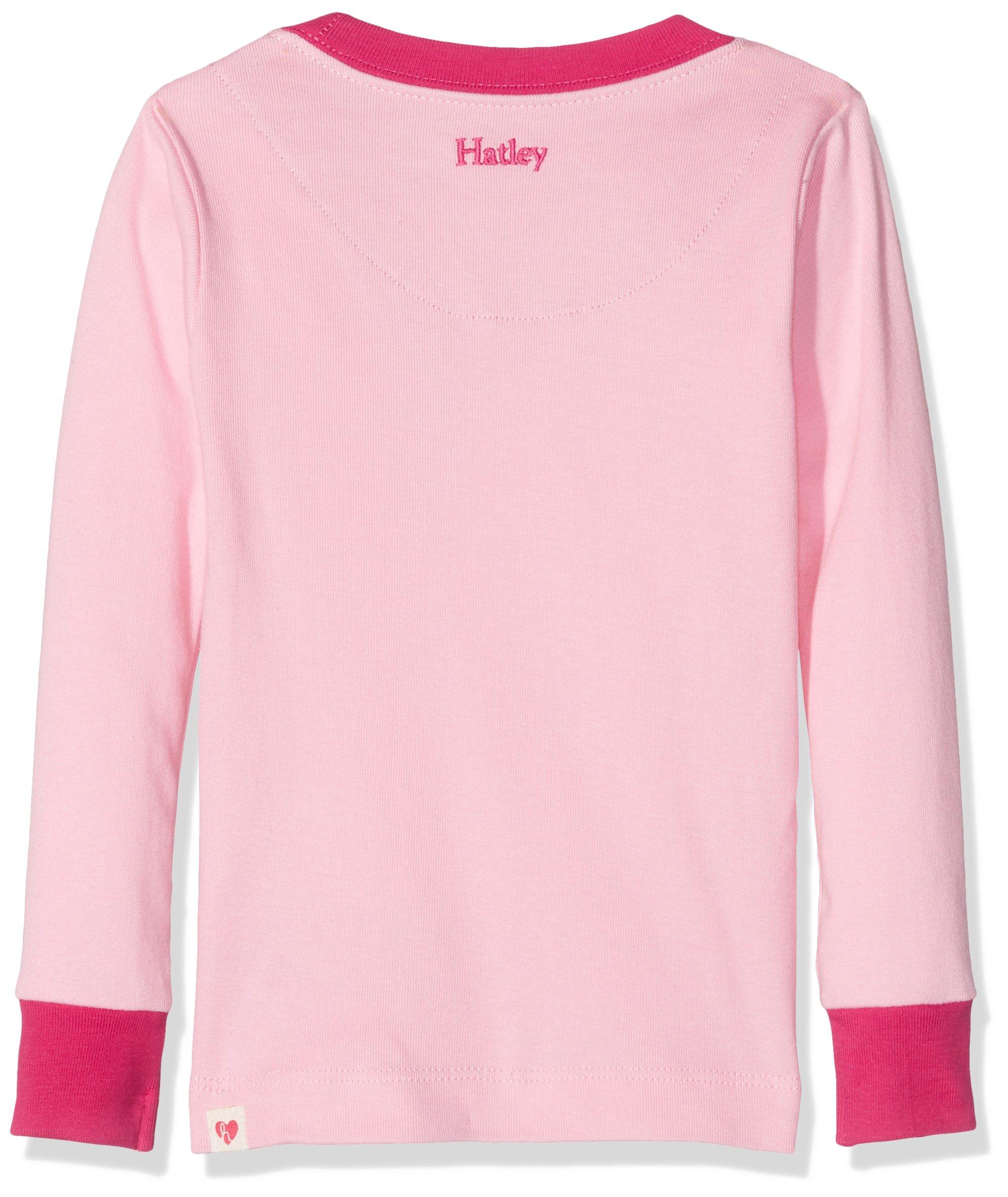Hatley Kids Baby Girl's Princess Pups Ruff Night PJ Set (Toddler/Little Kids/Big Kids) Pink 5 by Hatley (Image #2)