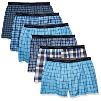 Men's Tagless Tartan Boxer with Exposed Waistband