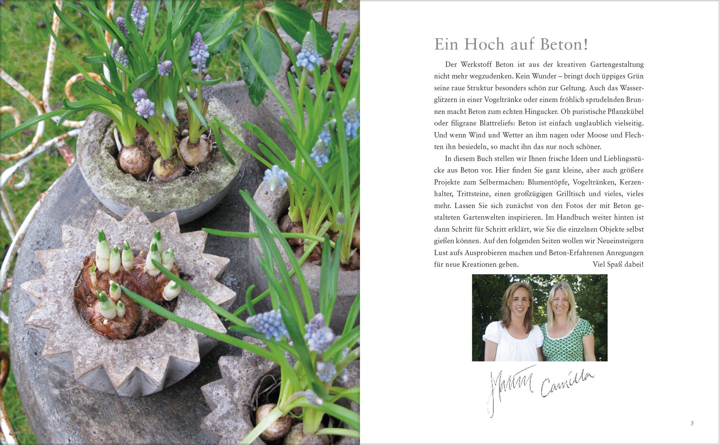 Neue Garten Deko Aus Beton Selbstgemacht: Amazon.de: Camilla Arvidsson,  Malin Nilsson: Bücher