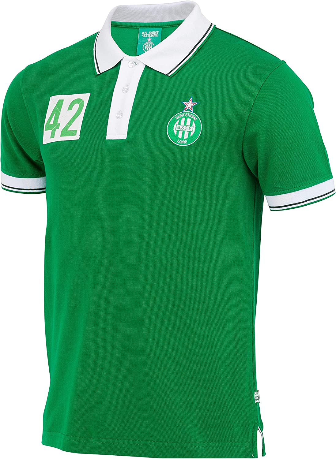 AS Saint Etienne ASSE Official Collection Mens Polo Shirt