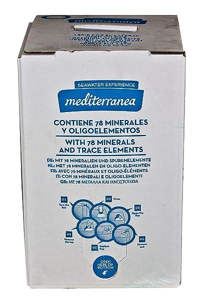 Agua De Mar Del Mediterráneo Esterilizada Por Microfiltración Apta Para Uso Alimentario 10Lt