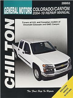chevrolet colorado gmc canyon 2004 2012 repair manual haynes rh amazon com 2006 GMC Canyon Single Cab 2006 gmc canyon user manual