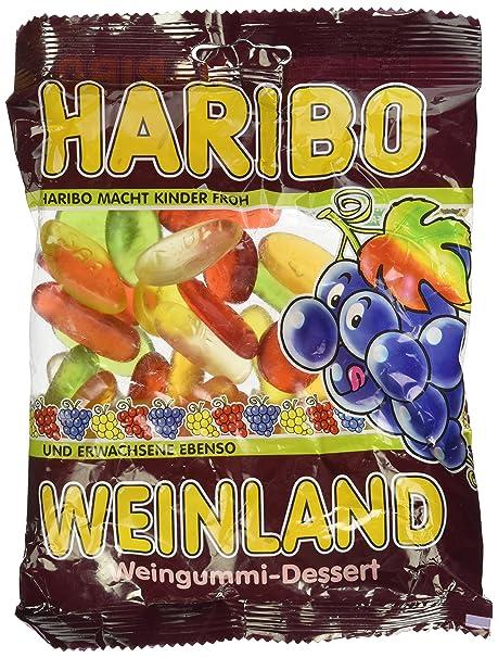 Haribo Weinland, Ositos de Goma, Gominolas, Gomitas de Fruta ...