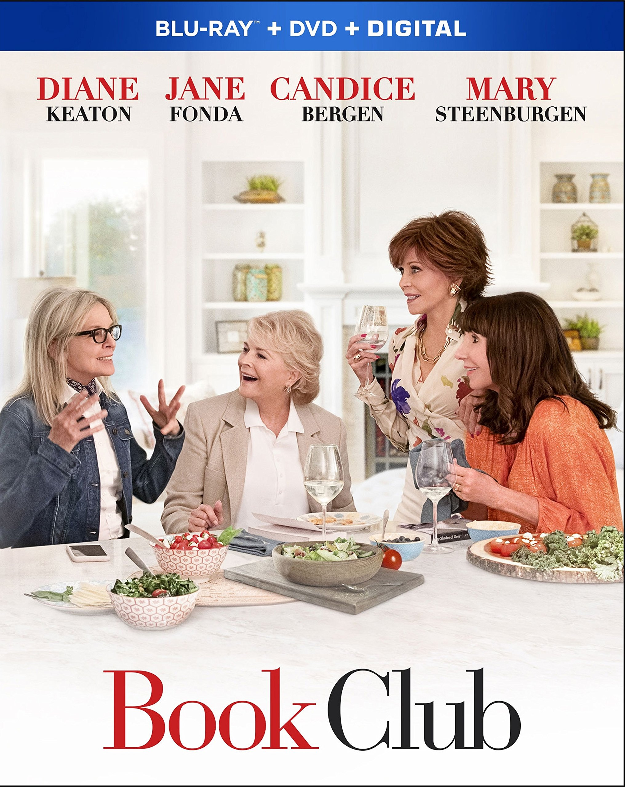 Blu-ray : Book Club (With DVD, Subtitled, Dubbed, Digital Theater System, 2 Pack)