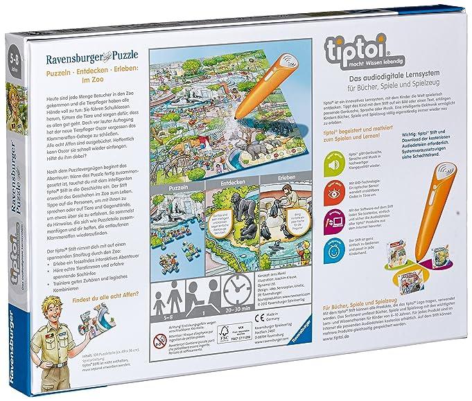 tiptoi puzzle zoo