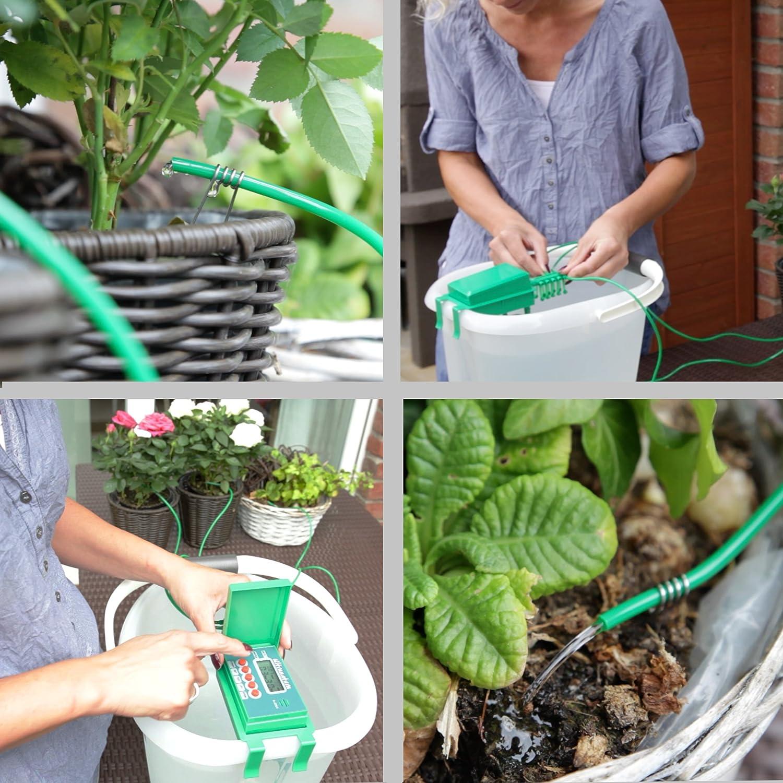 Ultranatura Bewasserungsanlage Automatisch Und Einfach Per Lcd