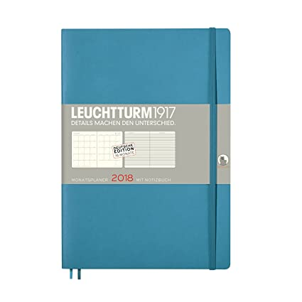 Leuchtturm1917 355150 Mes Agenda con cuaderno 2018 Soft ...