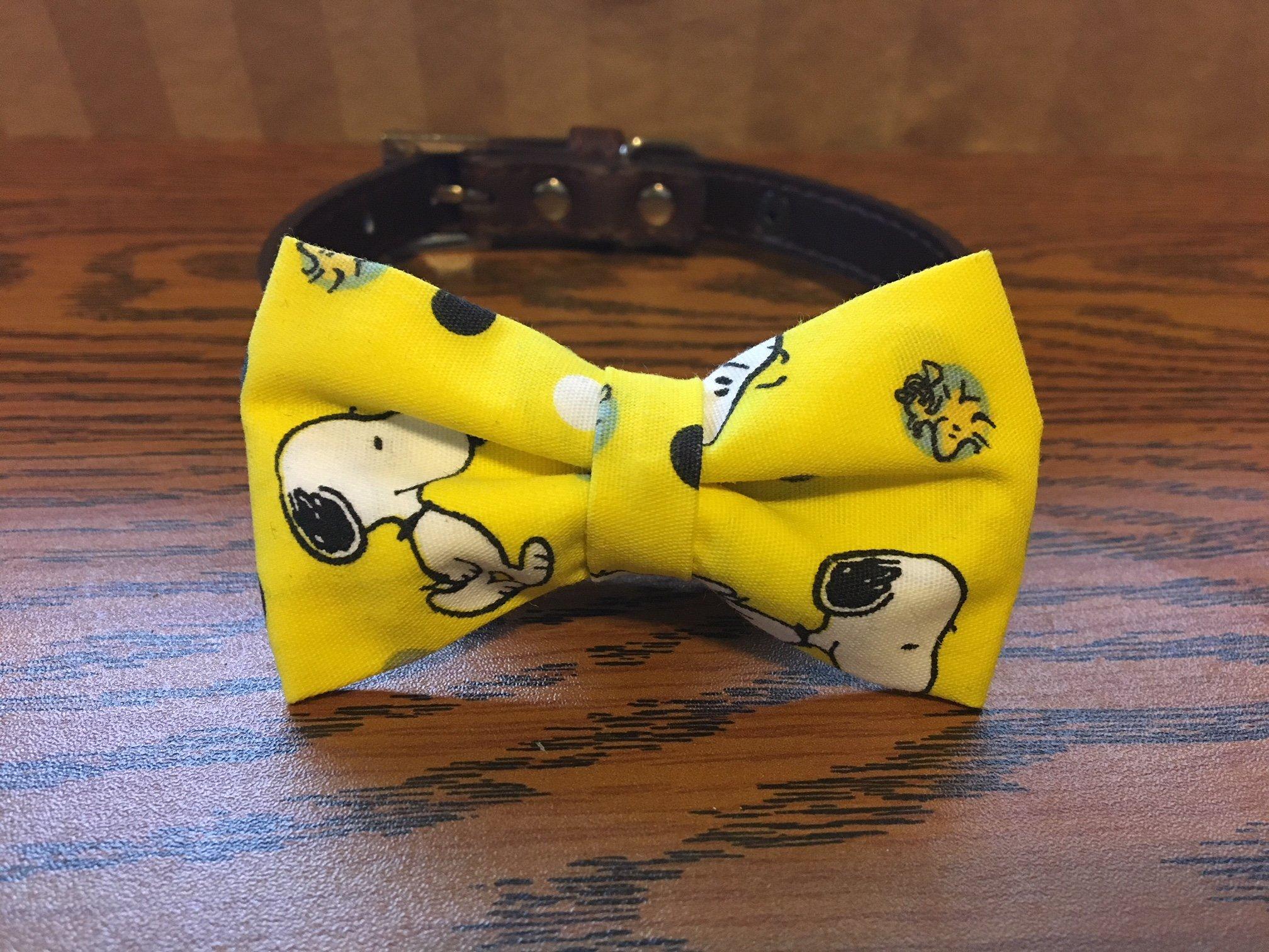 Snoopy-Dog Bow Tie