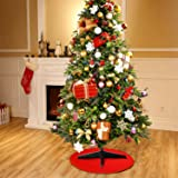 Boao 30 Inch Reversible Christmas Tree Stand Mat