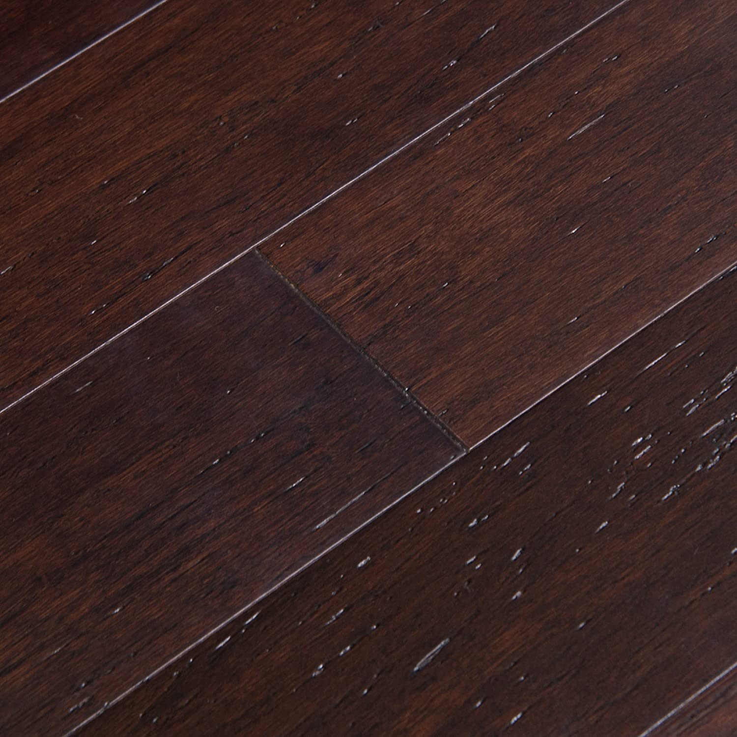 Cali Bamboo Solid Bamboo Flooring Vintage Java Dark Brown