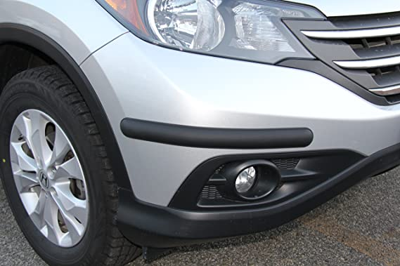 MADE IN EUROPE Bumper Protection MATTE BLACK FINISH - Corner Bumper Guards BumpTek - SMALL SIZE INCLUDES 4 BUMPER GUARD PIECES