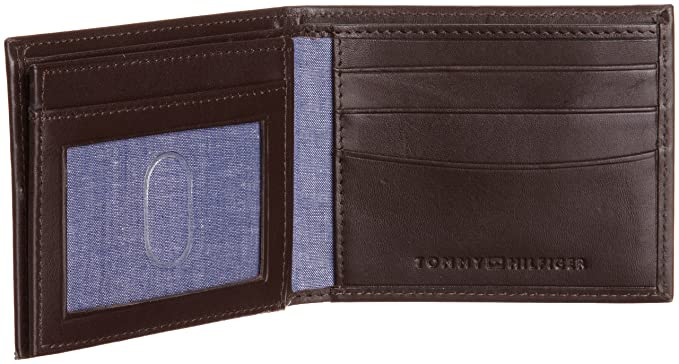 Tommy Hilfiger Mens Security Passcase, Brown, One Size at Amazon Mens Clothing store: