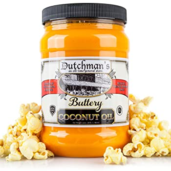 Dutchman's Popcorn Coconut Oil – Butter Flavored