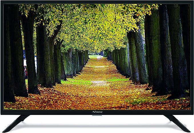 Strong SRT 32HB3003 Televisor LED HD 80cm 32 pulgadas (HD Ready, HDTV, DVB-T2, DVB-S2, DVB-C, USB, HDMI, modo hotel) Negro: Amazon.es: Electrónica