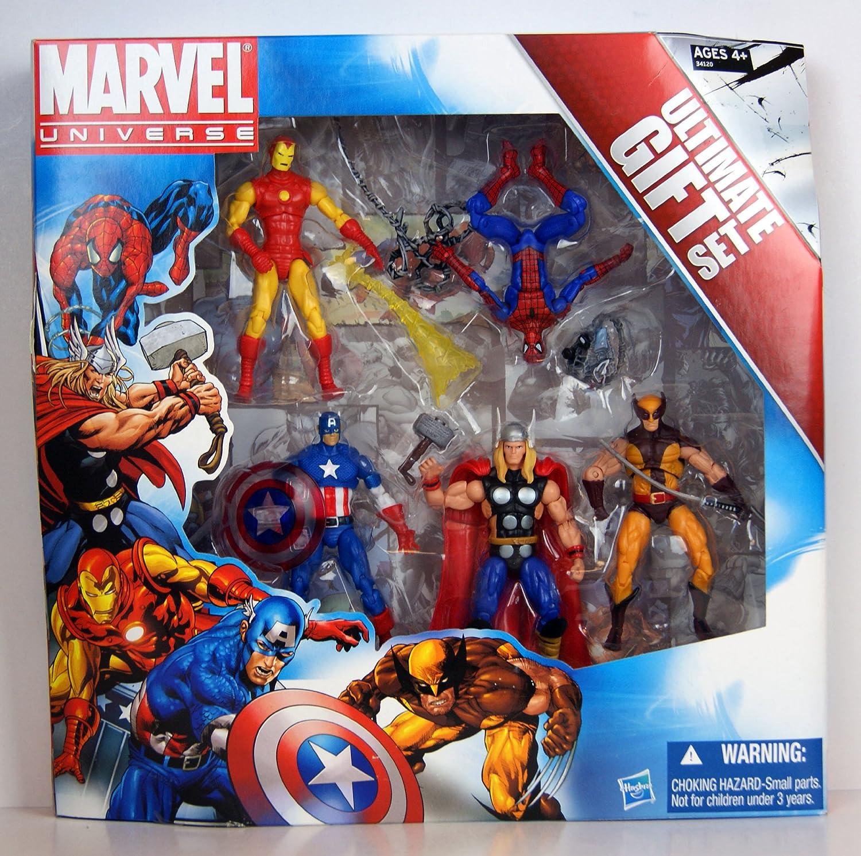 Spiderman Iron Man Thor Captain America Wolverine action figure