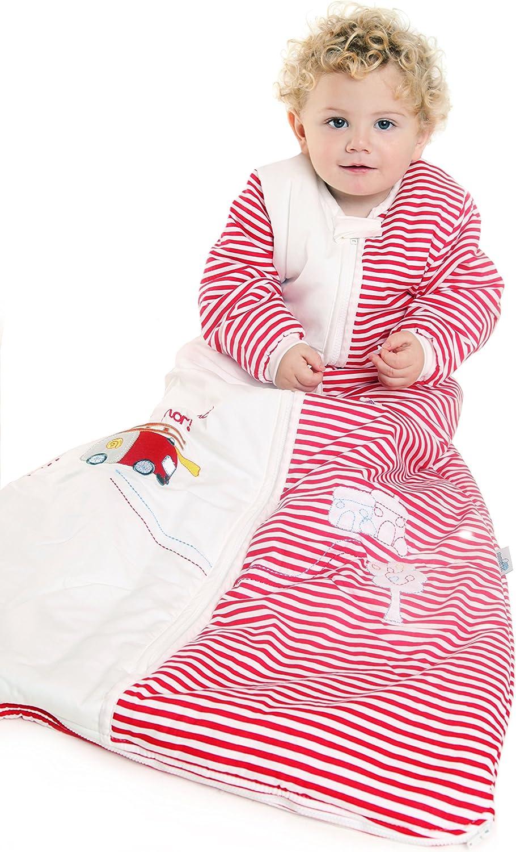 Slumbersafe Winter Kid Sleeping Bag Long Sleeves 3.5 Tog 6-10 years//XXL Fire Engine