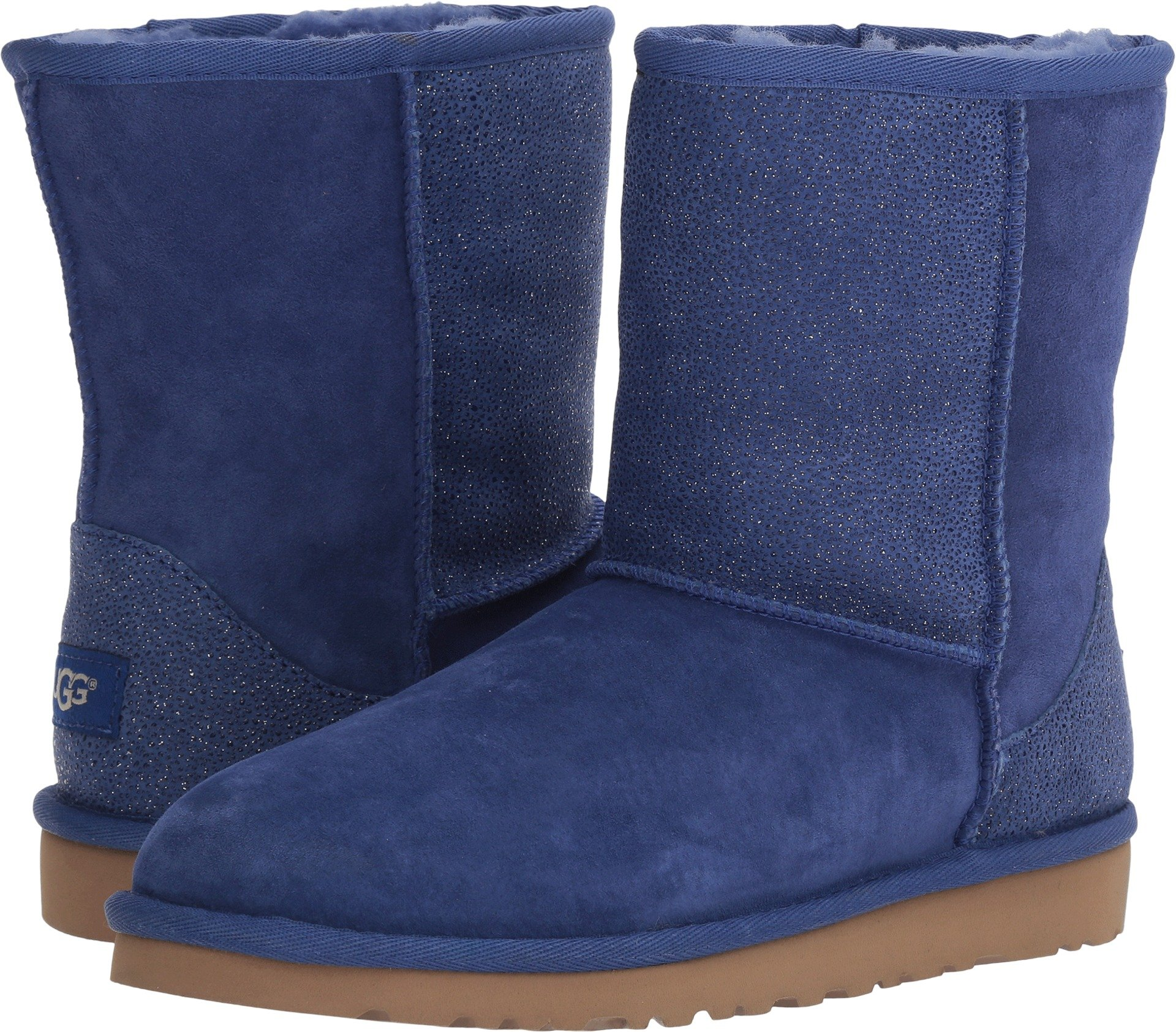 UGG Kids Classic Short Serein Boot Night Sky Size 5 M US Big Kid