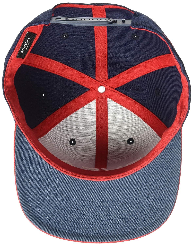 RVCA Mens Twill Snapback Hat