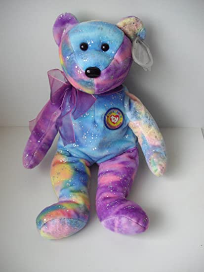 355fa316a70 Image Unavailable. Image not available for. Color  Ty TY Beanie Baby - CLUBBY  6 the Bear ...