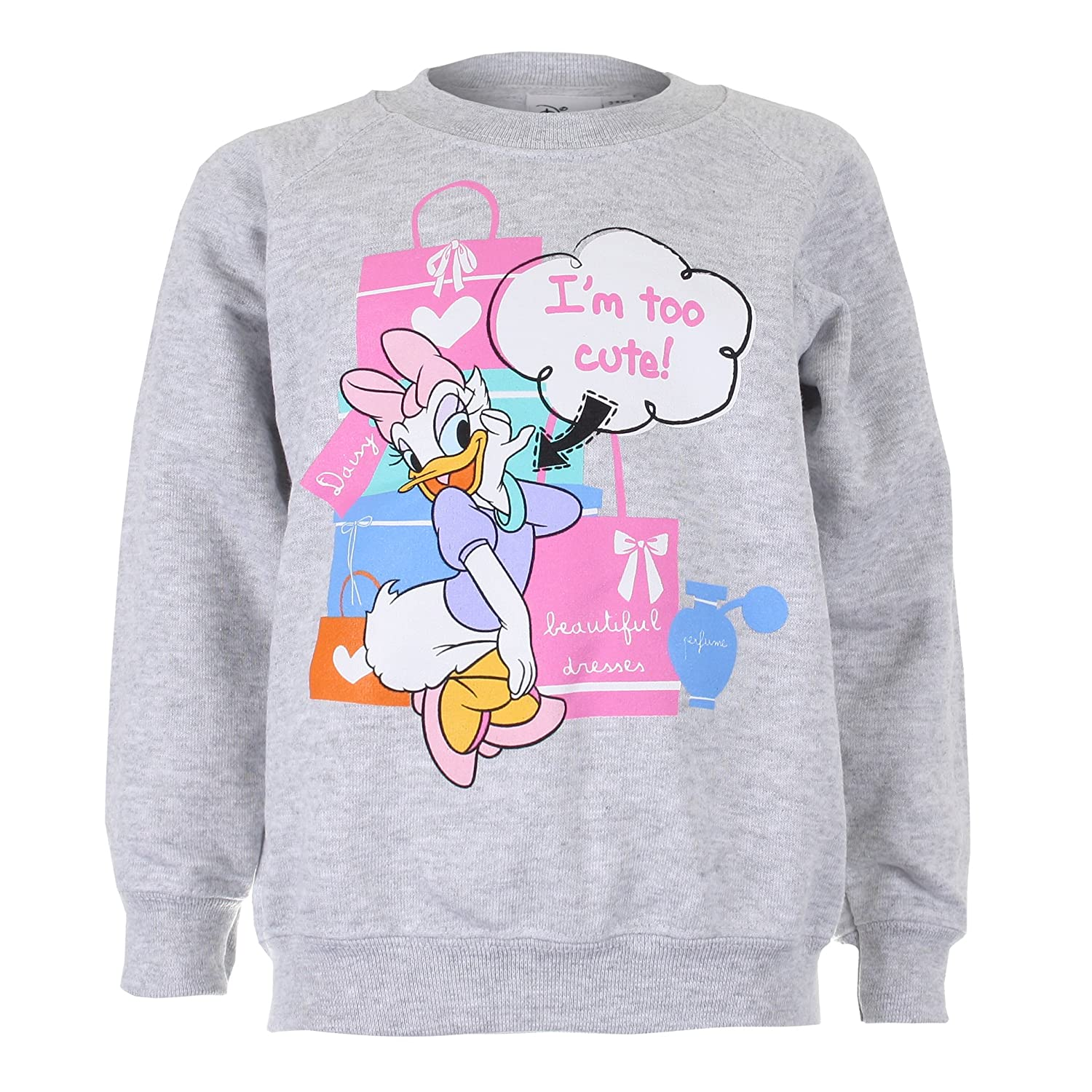Disney Daisy Too Cute Girls Sweatshirt RFKCS020