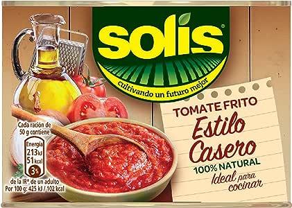 Solis - Estílo Casero - Tomate Frito - 3 x 100 g: Amazon