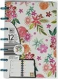 Me & My Big Ideas Mind Happy Life Mini Planner, White/Floral