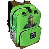 JINX Minecraft Sword Adventure Kids Backpack (Green, 17
