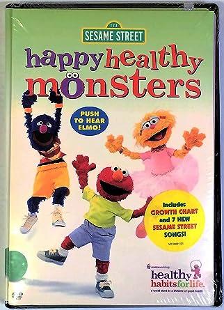 Amazon Sesame Street Happy Healthy Mons Movie Video Movies Tv