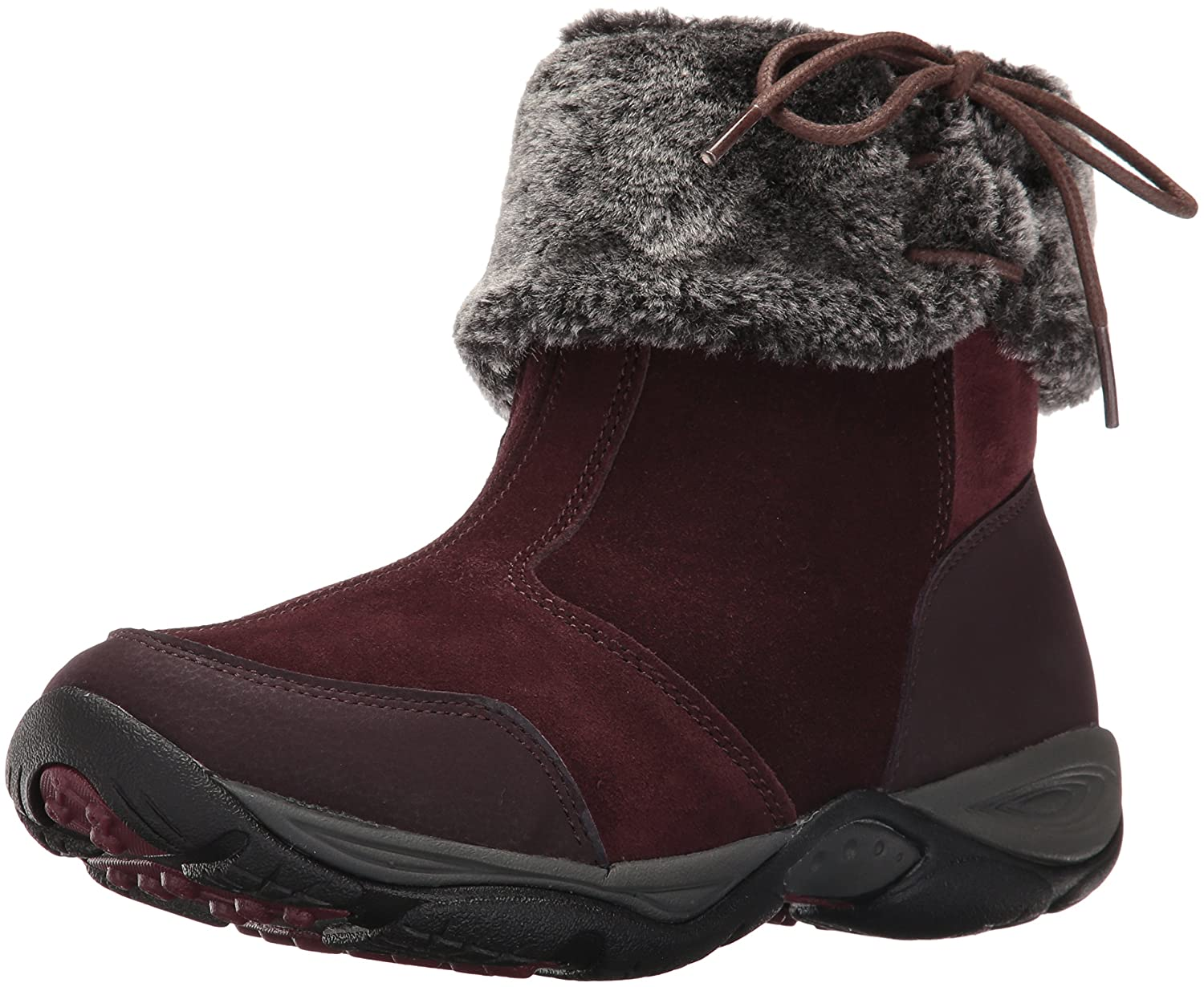 Easy Spirit Women's Elementa Ankle Bootie B01JSJ7JPW 8.5 W US|Dark Purple