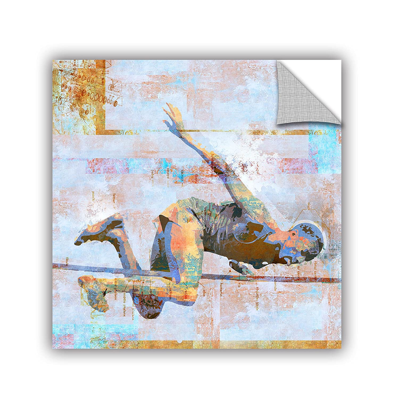 ArtWall Greg Simansons Jump Art Appeelz Removable Graphic Wall Art 14 x 14