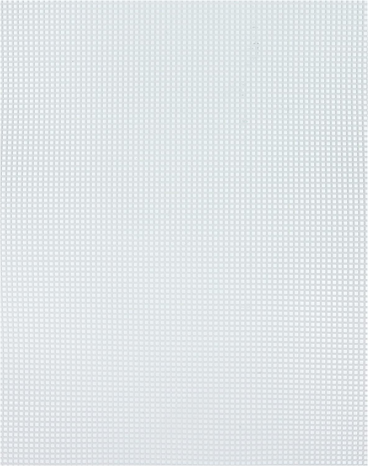 Darice 33418-1 Plastic Canvas Ultra Rigido Clear 26.67 x 34.29 x 0.3 cm