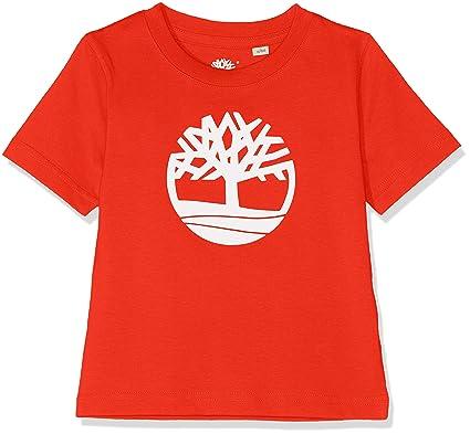 0abc0bf9506fb Timberland Tee-Shirt Manches Courtes Garçon  Amazon.fr  Vêtements et  accessoires