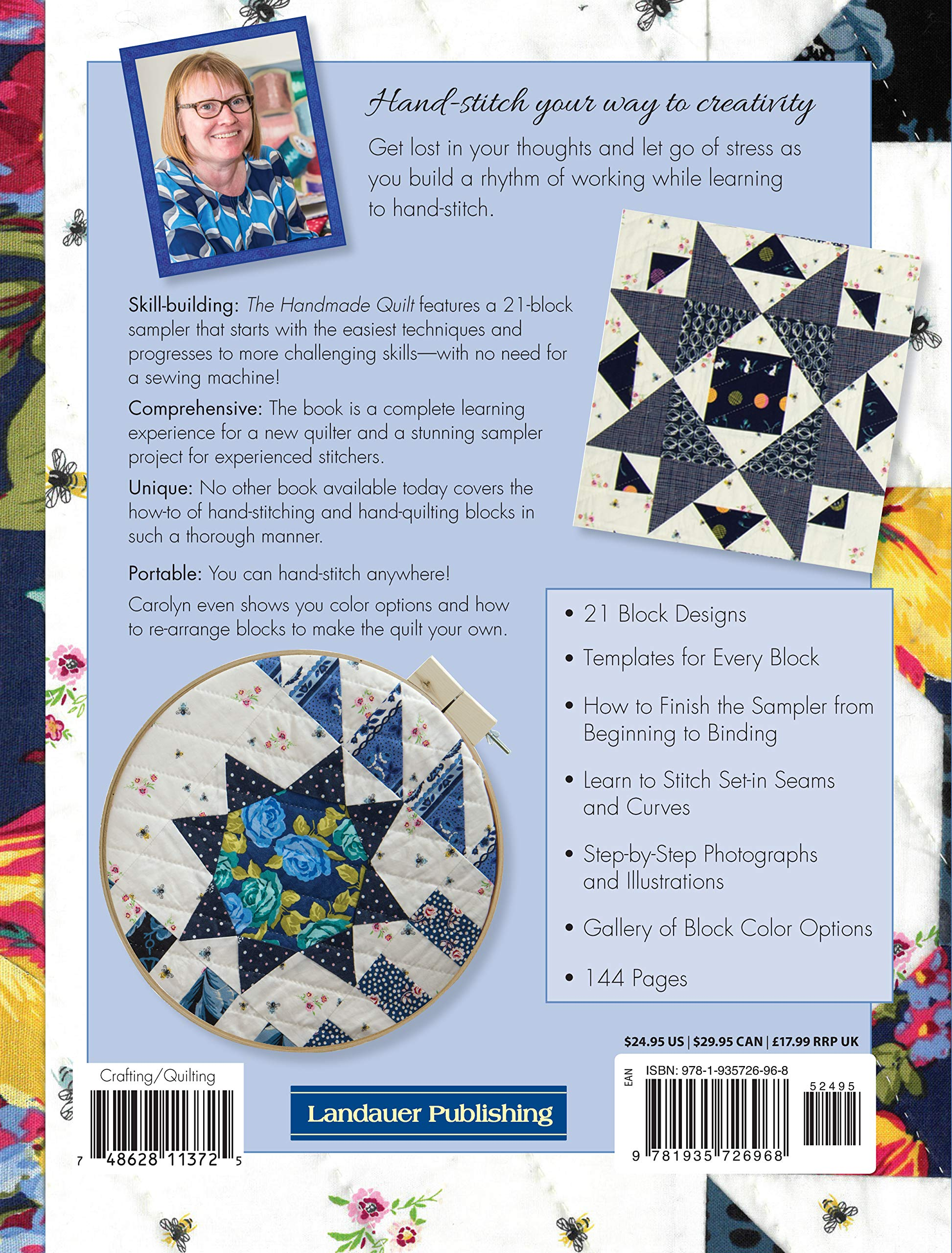 b25780b761a The Handmade Quilt  A Complete Skill-Building Sampler (Scrap Your Stash)   Amazon.co.uk  Carolyn Forster  9781935726968  Books