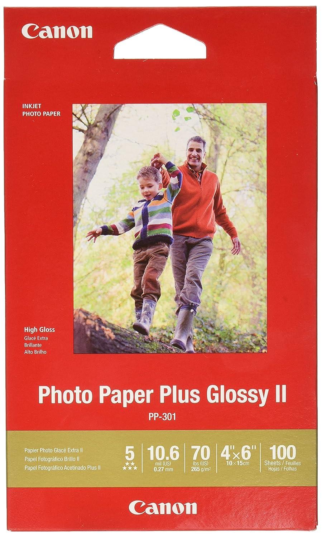 100 Hojas Papel Canon Fotográfico 4 X 6