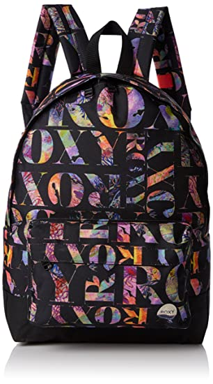 Roxy Sugar Baby - Mochila casual, color negro, 16 litros, 40 cm: Amazon.es: Zapatos y complementos