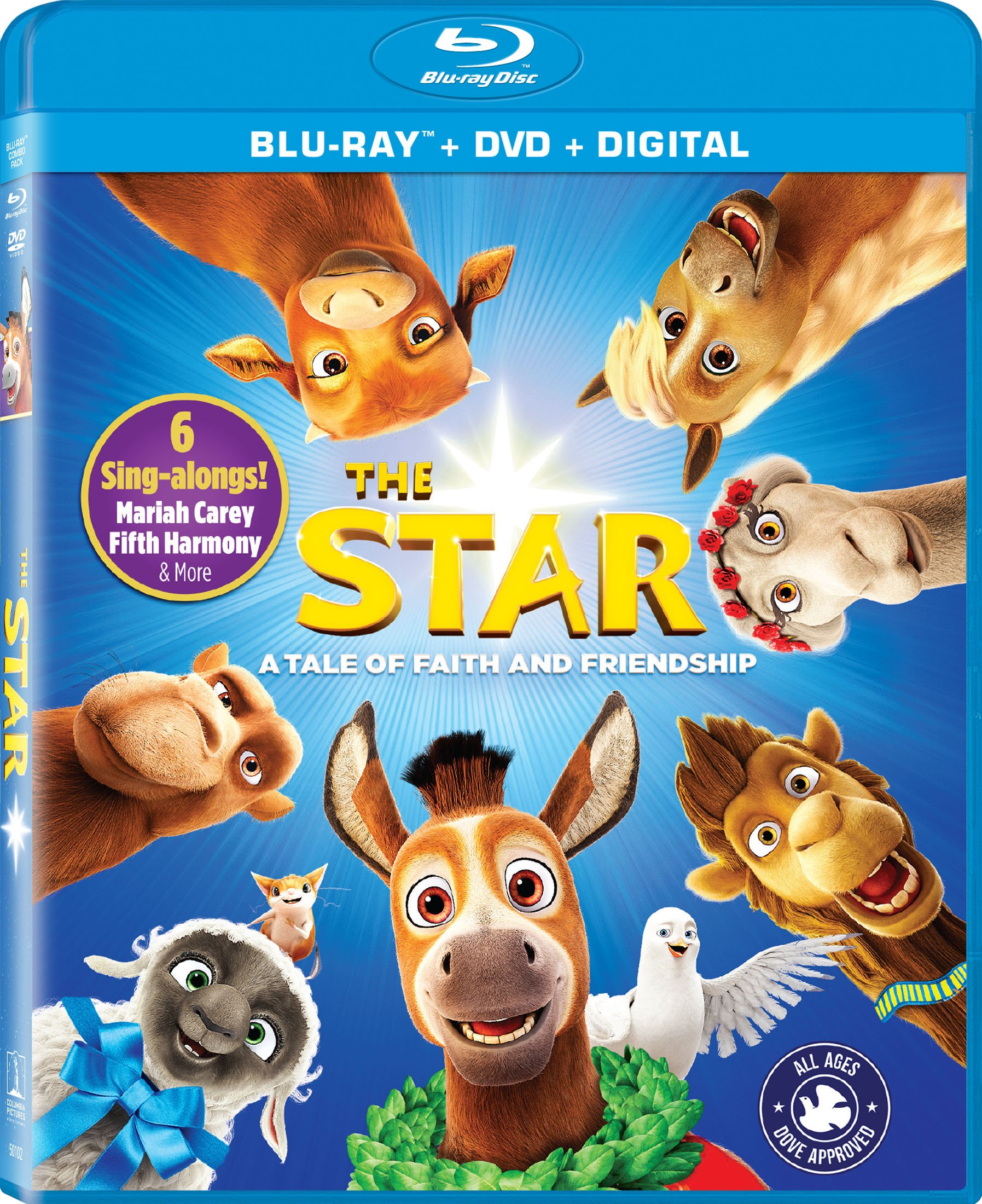 Blu-ray : The Star (With DVD, 2 Pack, Widescreen, Dolby, AC-3)