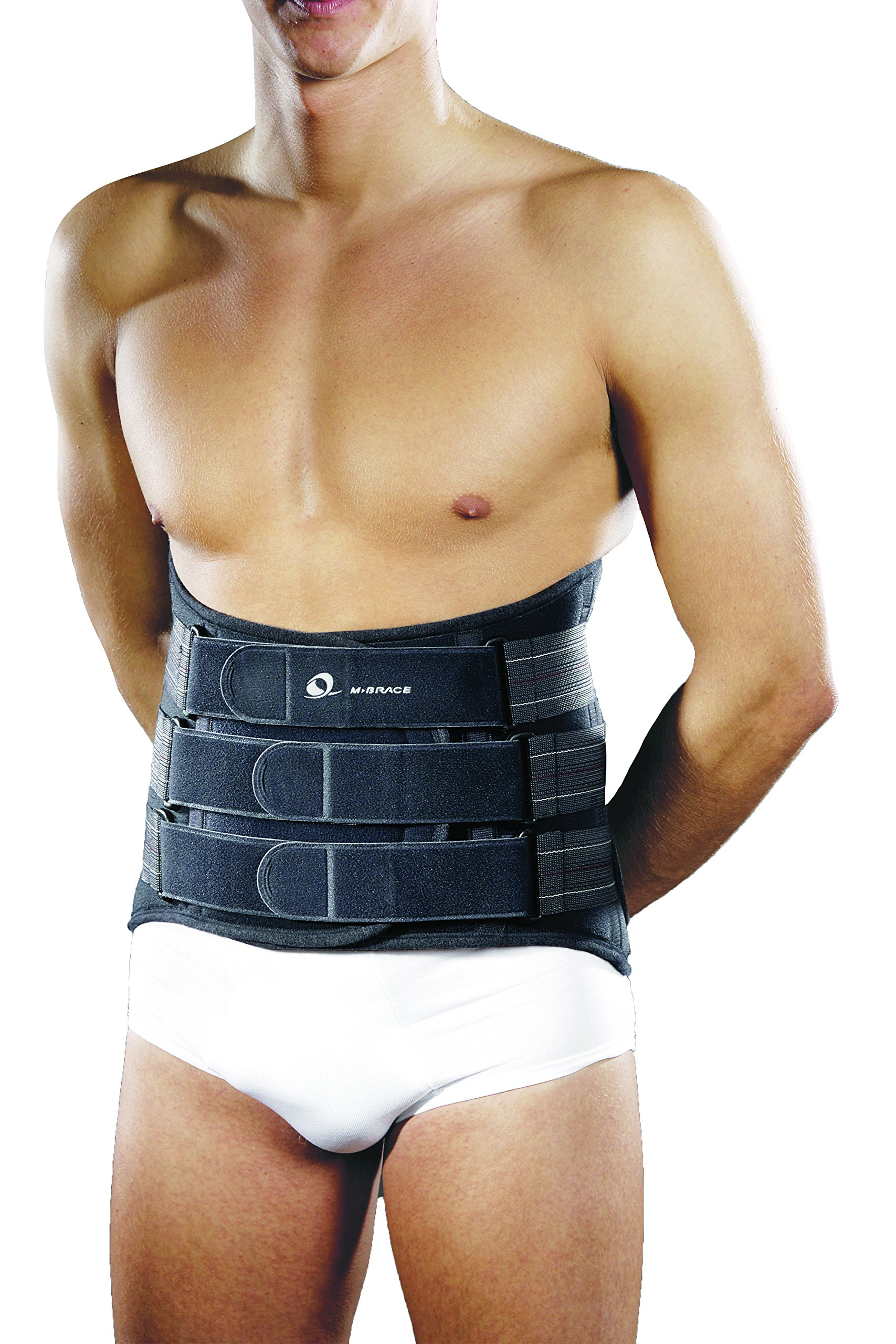 M-Brace AIR M-Spine Lumbar-Sacral Brace Size, Grey, 3X-Large by M-Brace AIR