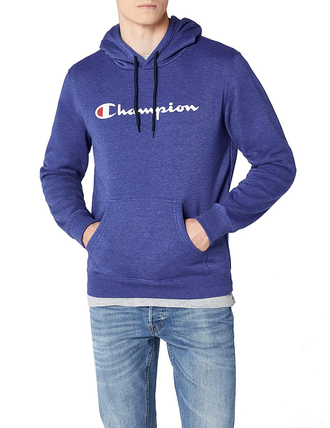 TALLA S. Champion Hooded Sweatshirt-Institutionals Sudadera con Capucha para Hombre