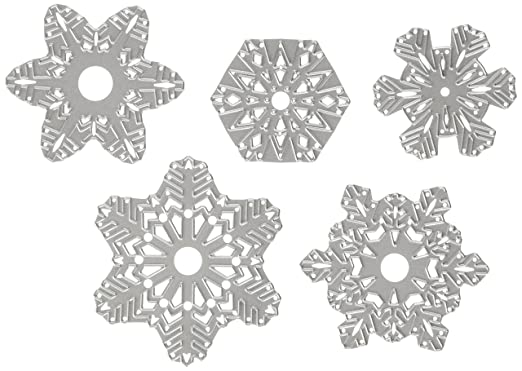 10 opinioni per Sizzix 660059- 5 Fustelle, Fiocchi di neve di carta