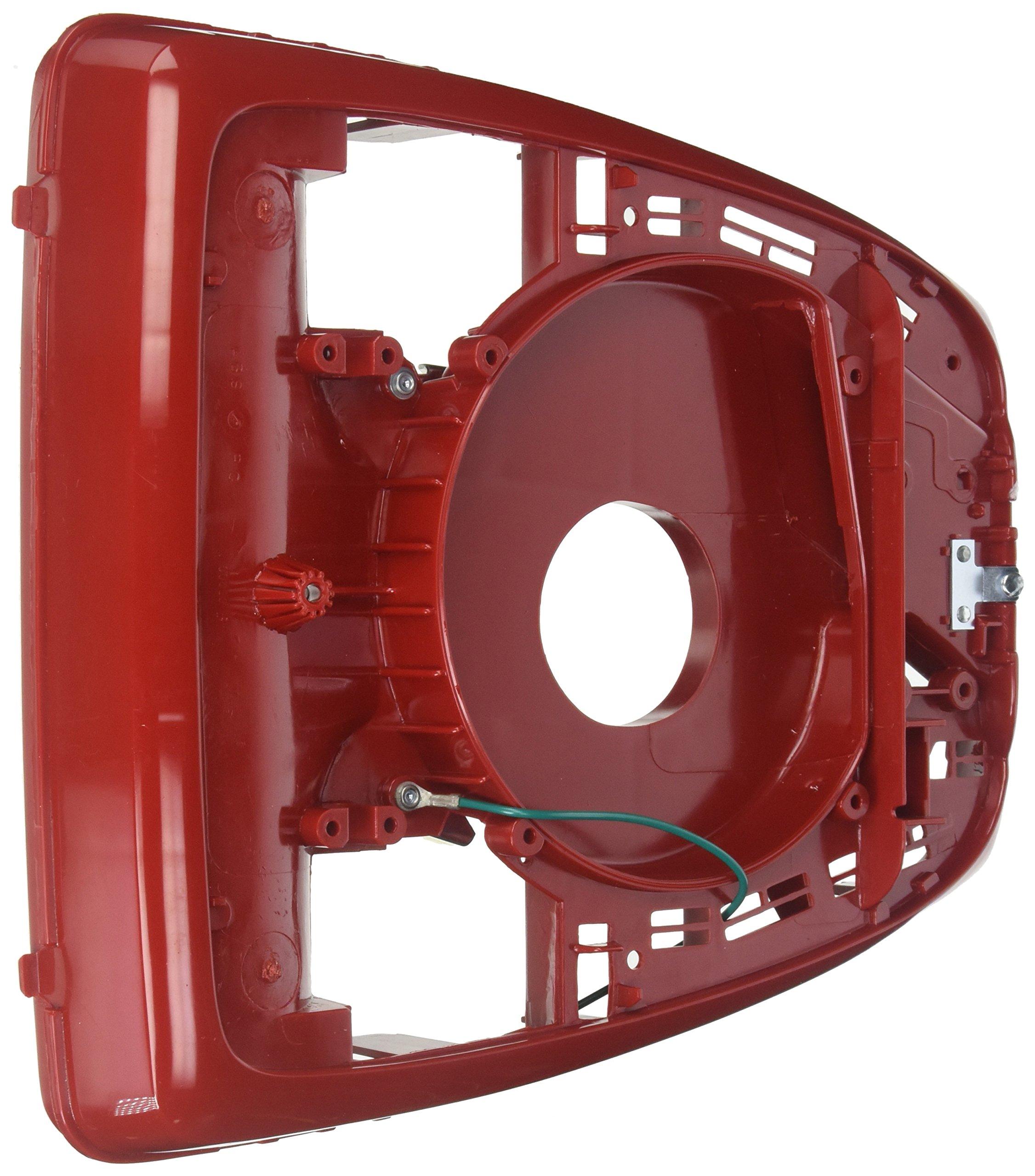 Base, 12'' Hex End B/R Inner Wheels 675/679 Red