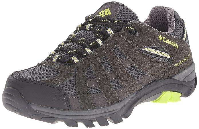 Columbia Youth Redmond Explore Waterproof - Zapatillas de trekking y senderismo, de piel, para niños/niñas: Amazon.es: Zapatos y complementos
