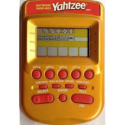 Yahtzee Electronic Hand-held [Gold]: Electronics
