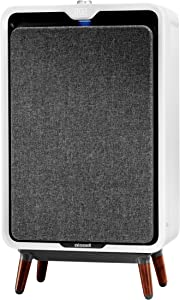 BISSELL air320 Smart Air Purifier with HEPA and Carbon Filters for Large Room and Home, Quiet Bedroom Air Cleaner for Allergies, Pets, Dust, Dander, Pollen, Smoke, Odors, Auto Mode, 2768A