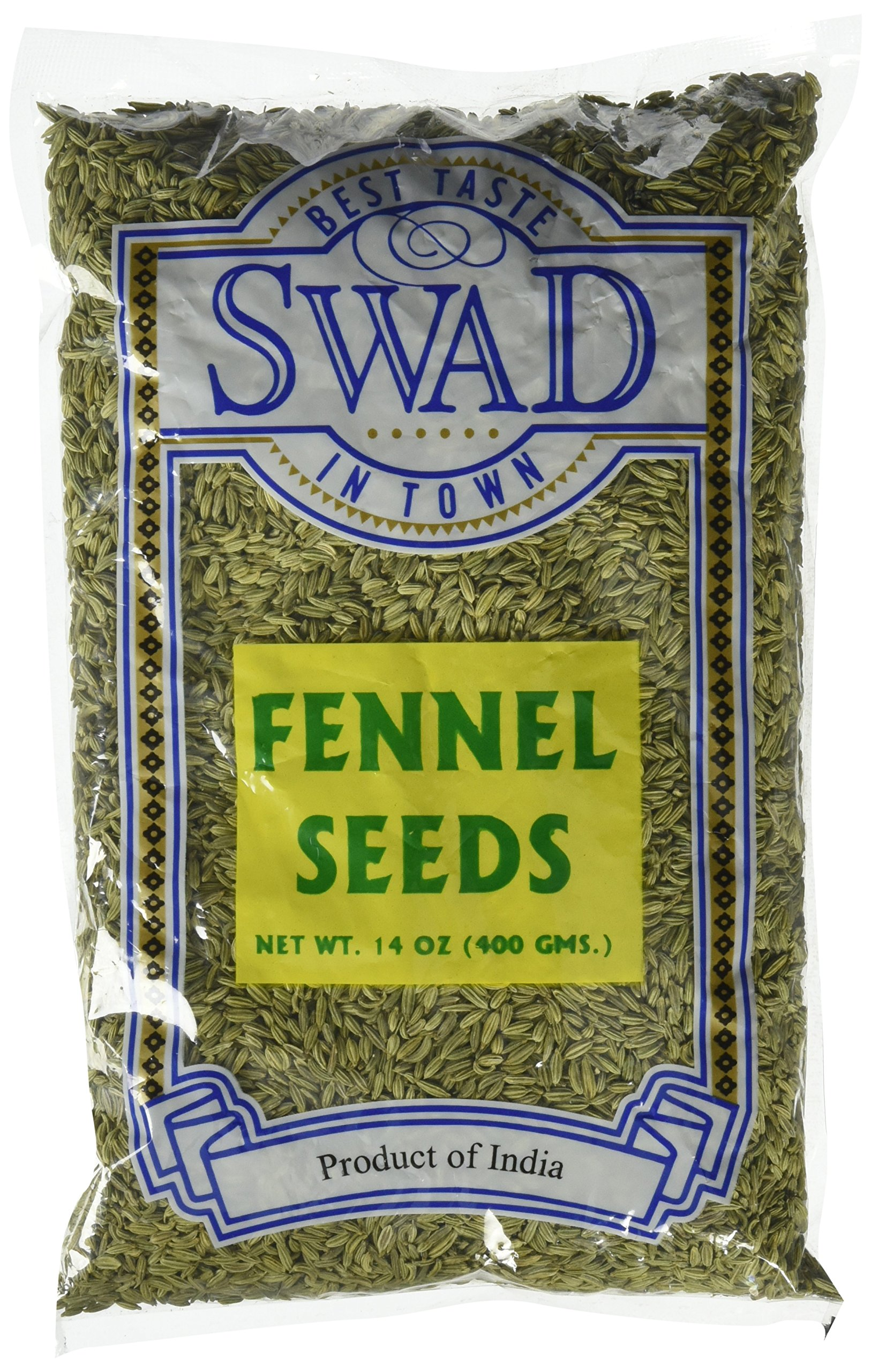 Great Bazaar Swad Fennel Seeds, 14 Ounce