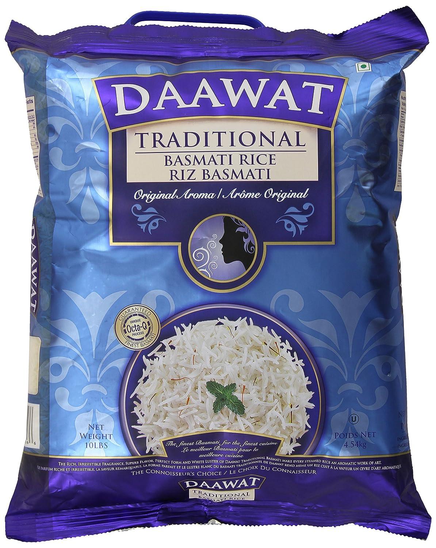 Daawat Traditional Basmati Rice, 10 Pound Packaging may vary