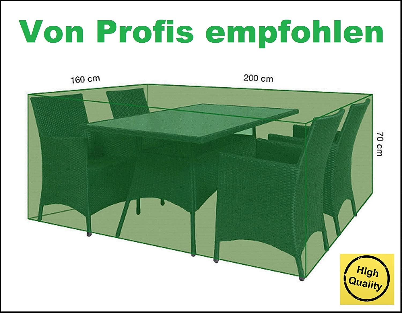 Amazon.de: Glorytec Premium Abdeckung Gartenmöbel 200x160x70