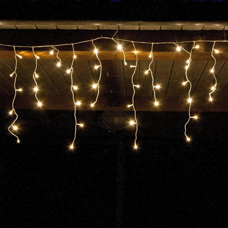 91W7n9fUo5L._SL1500_ Verwunderlich Led Eisregen Lichterkette Warmweiß Dekorationen