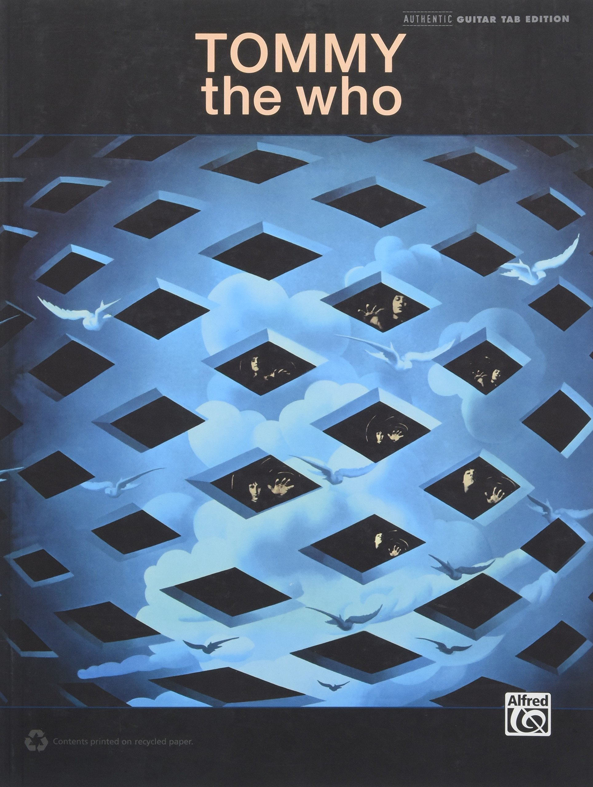 Amazon The Who Tommy Guitar Tab Guitar Tab Editions