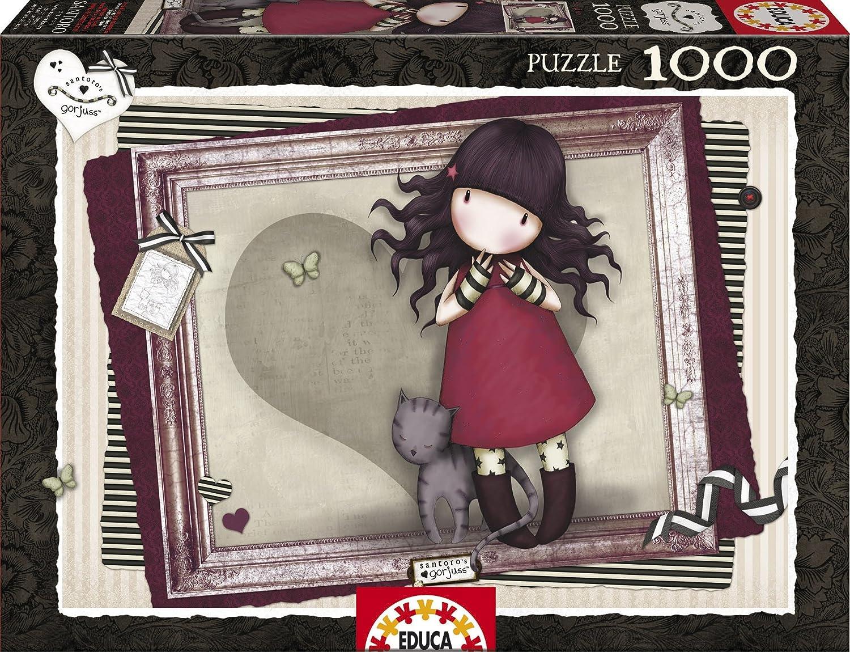 Educa Borrás - Purrrrrfect Love Gorjuss, 1000 Piezas (15997): Amazon.es: Juguetes y juegos
