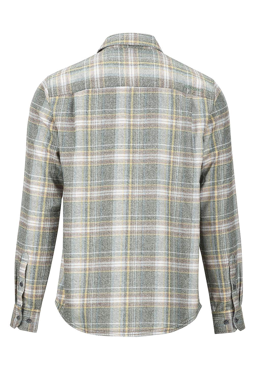 Camisa De Senderismo con Protecci/ón UV Hombre Transpirable Marmot Jasper Midweight Flannel LS Exteriores De Manga Larga